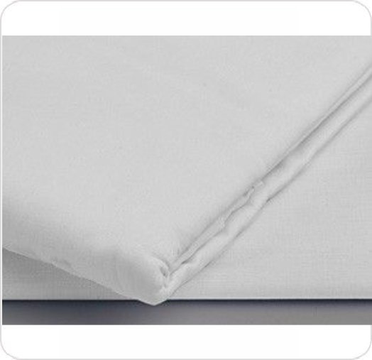 Bed Sheet Twin Flat White 9212DT200
