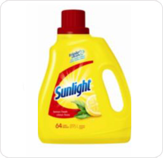 Detergent Sunlight Lemon Regular 92633