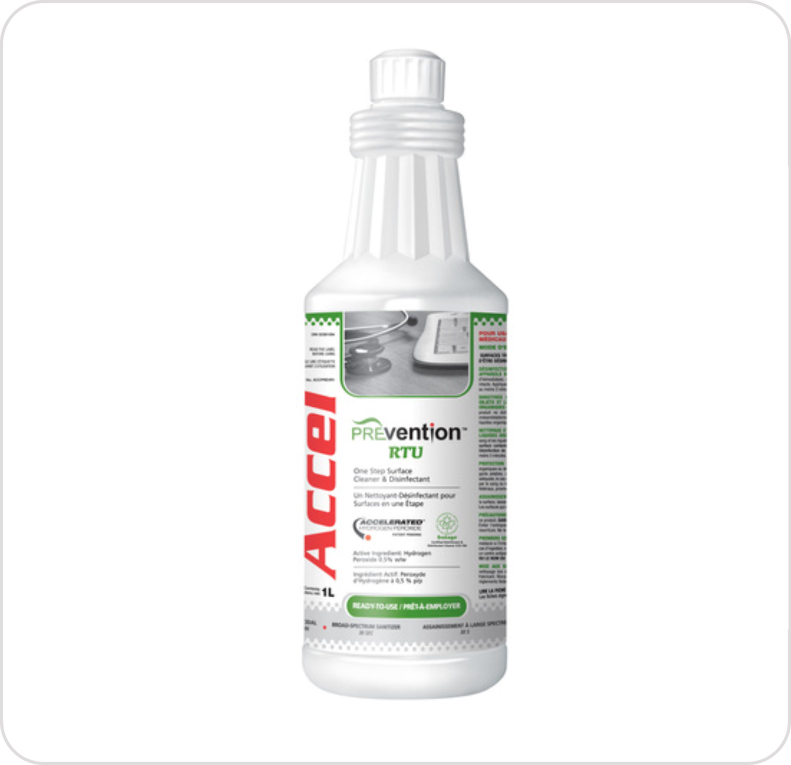 Disinfectant Surface PREVention Accel RTU