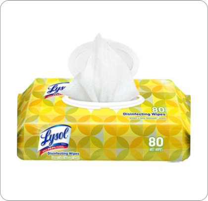 Wipes Disinfecting Lysol Flat-Pack CB997161