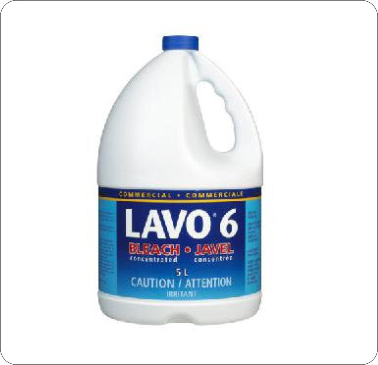 Bleach Liquid 6% Lavo 176142