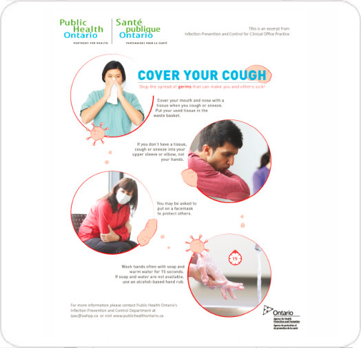 Public Health Ontario - Cover Your Cough