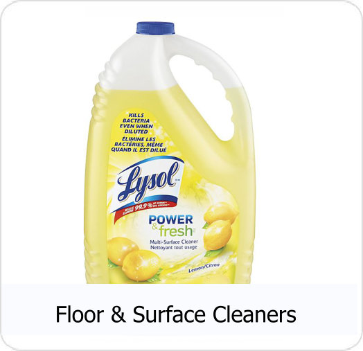 CRS - Floor & Surface Cleaners