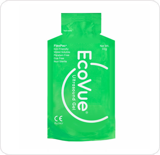 Gel Ultrasound EcoVue FlexPac 32G