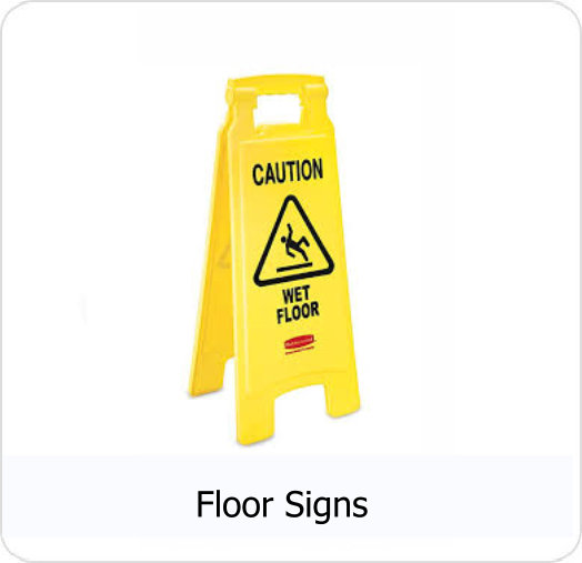 CRS - Floor Signs