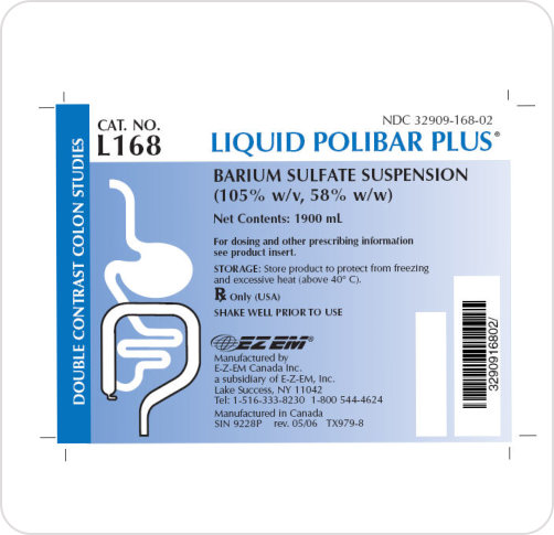 Liquid Polibar Plus 1900ml 105% w/v