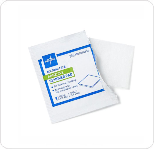 Wipes Adhesive Remover MDS090855