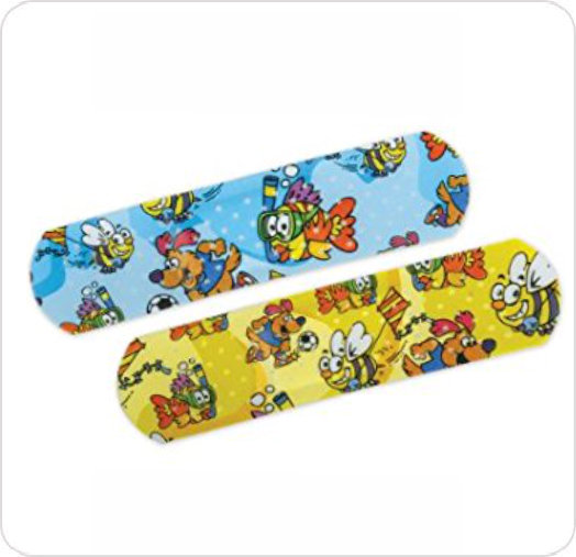 Bandage Kids Curad Medtoons NON256130