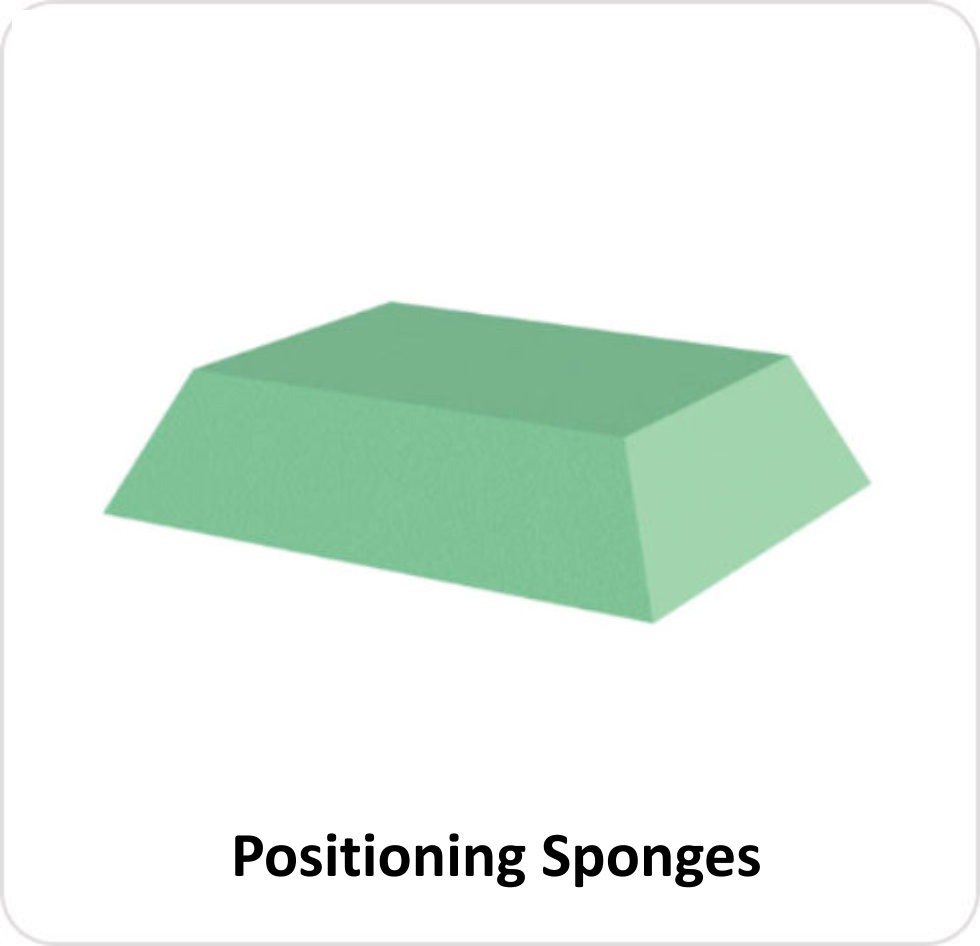 POS - Positioning Sponges