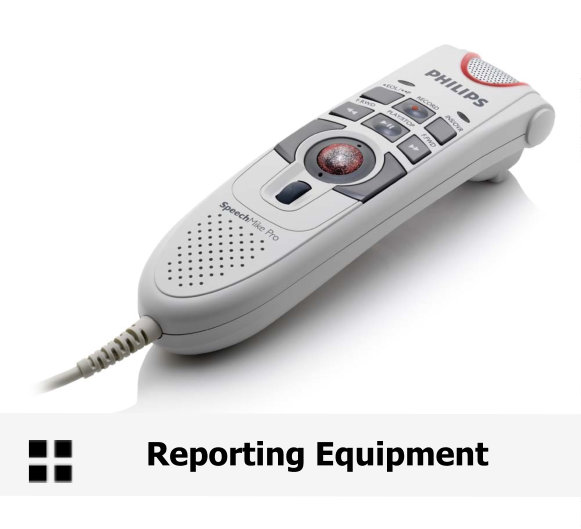 REP - Reporting Equipment