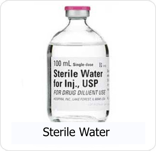 MDS-Sterile Water