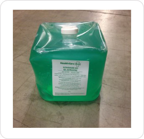 Gel Ultrasound Healthcare LV Green UGL050