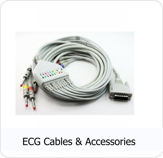 CAR- ECG Cables & Accessories