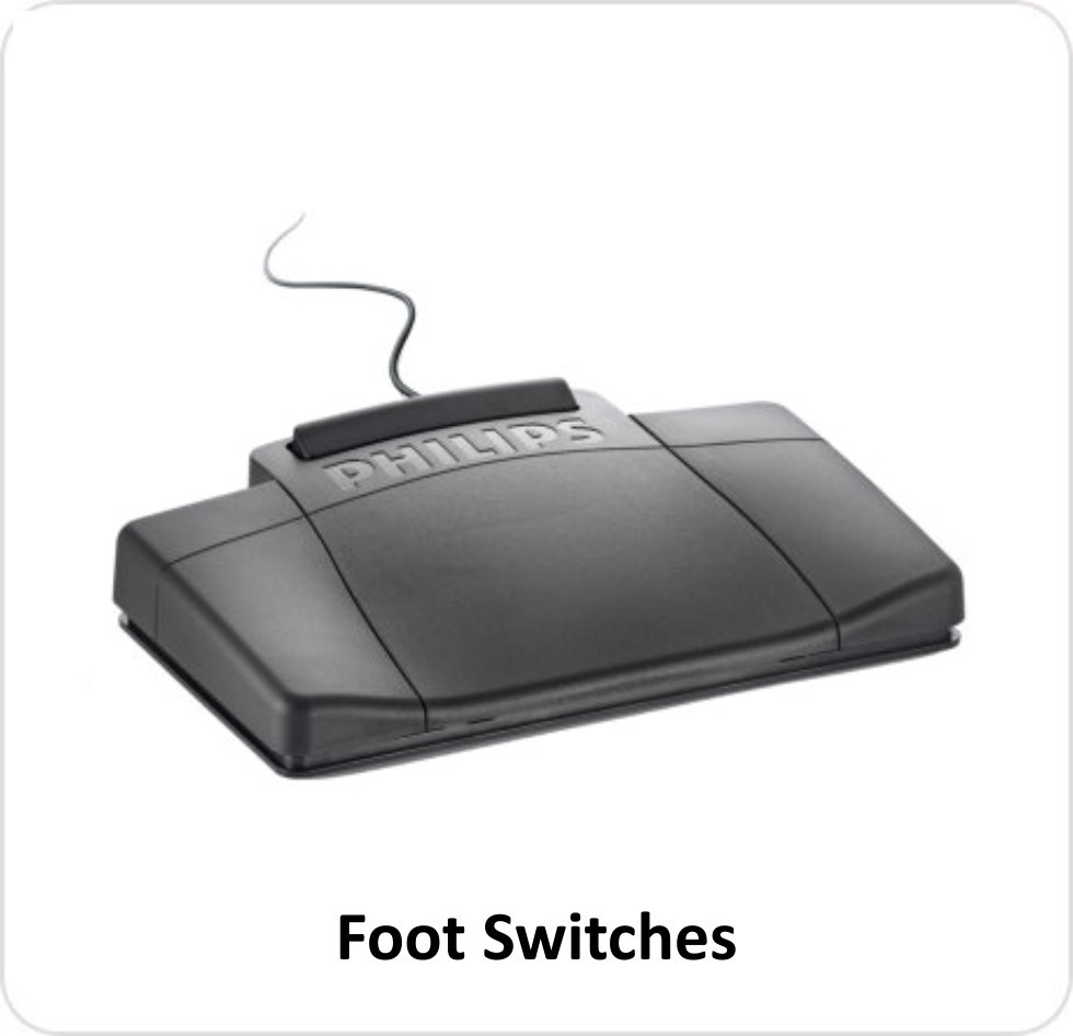 REP - Foot Switches
