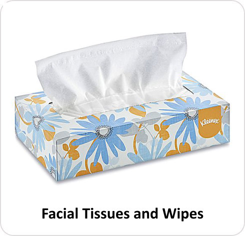 WRS - Facial Tissue & Wipes