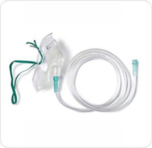 Mask Oxygen Medium Conc 1042