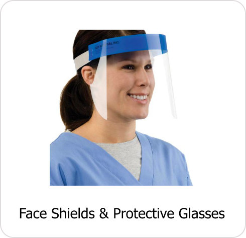 INF-Face Shields & Protective Glasses